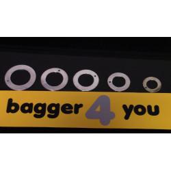 Scheibe 1,5mm für 40mm Bolzen